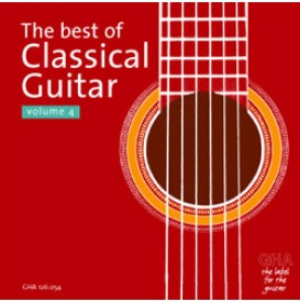 The best of Classical Guitar Volume 4